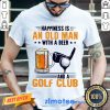 Annoyed Is An Old Man With A Beer And A Golf Club 2 Shirt