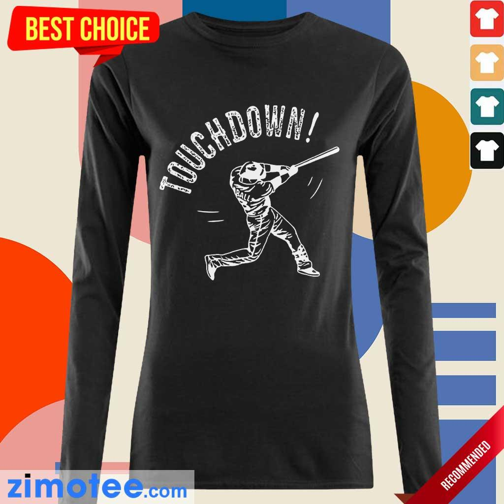 Happy Touchdown Baseball 2021 Long-Sleeved