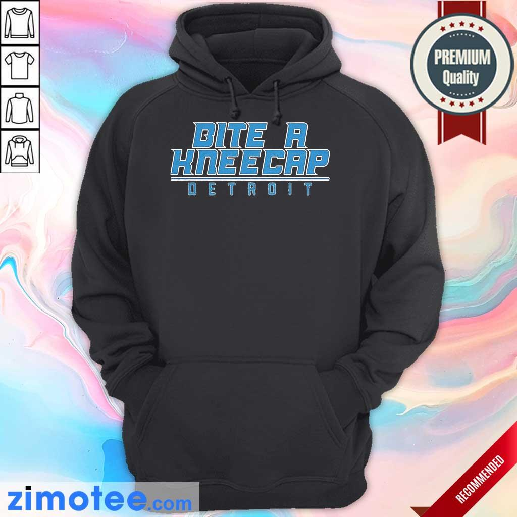 Bite A Kneecap Detroit Football Hoodie