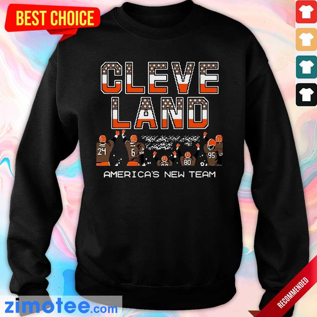 Hurt Cleveland Browns Americas New Team 5 Sweater