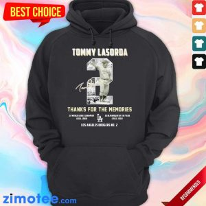 Intrigued Tommy Lasorda 2 Los Angeles Dodgers Hoodie