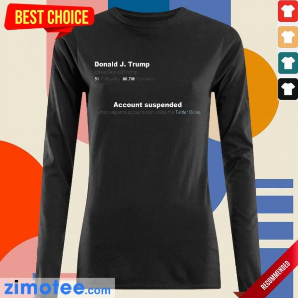 Irritated Trump Twitter Account Long-Sleeved
