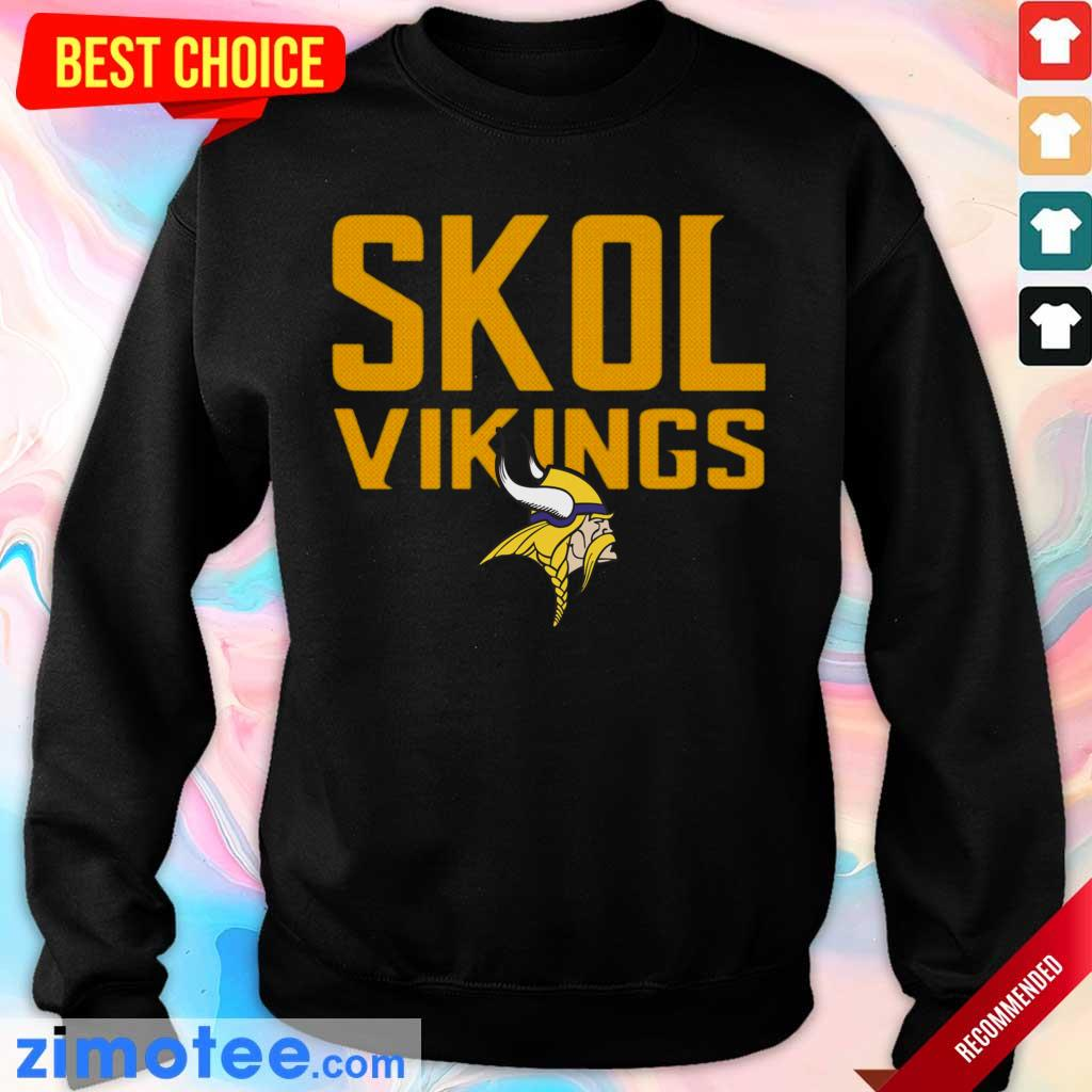 Jaded Skol Vikings Minnesota Vikings Logo 2 Sweater
