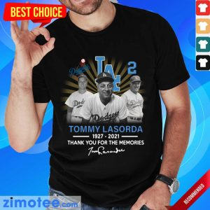 Jealous Tommy Lasorda 1927 2021 Signature Shirt