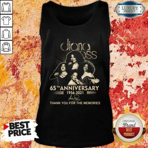 Relaxed Diana Ross 65th Anniversary 1956 2021 Thank You Signature Tank Top