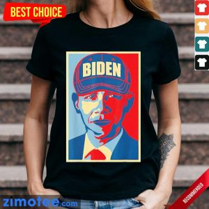 Tense Barack Obama Joe Biden Hat 2020 USA Ladies Tee