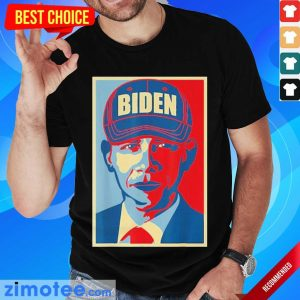 Tense Barack Obama Joe Biden Hat 2020 USA Shirt