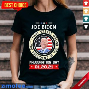 Tired Joe Biden Day 46th 2021 Ladies Tee