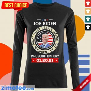 Tired Joe Biden Day 46th 2021 Long-Sleeved