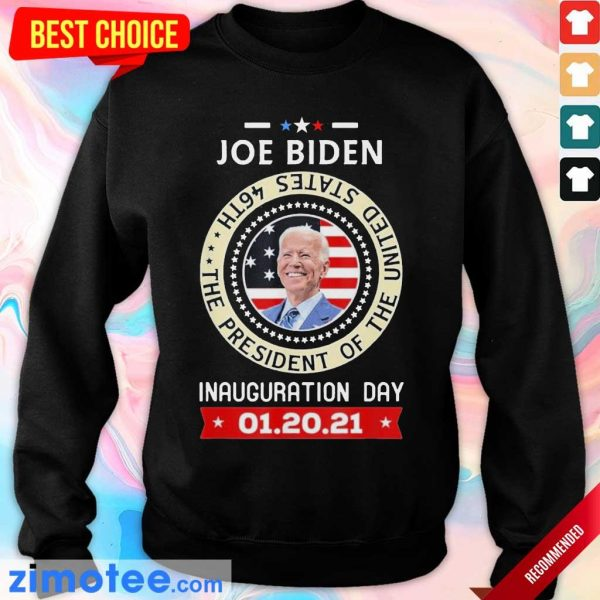 Tired Joe Biden Day 46th 2021 Sweater