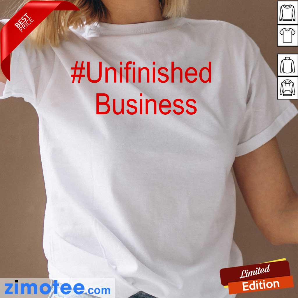 2 Delighted Unfinished Business Ladies Tee