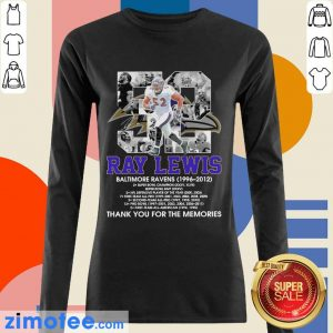 52 Ray Lewis Baltimore Ravens Signature Long-Sleeved