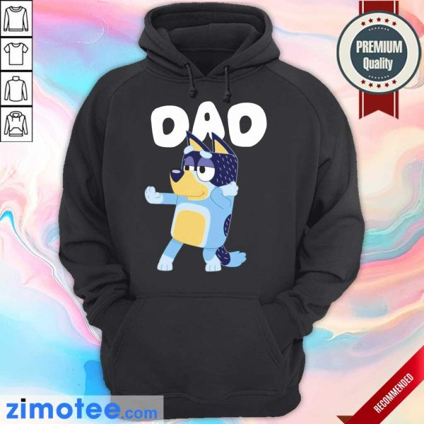 8 Absolutely Bluey Dad Hoodie