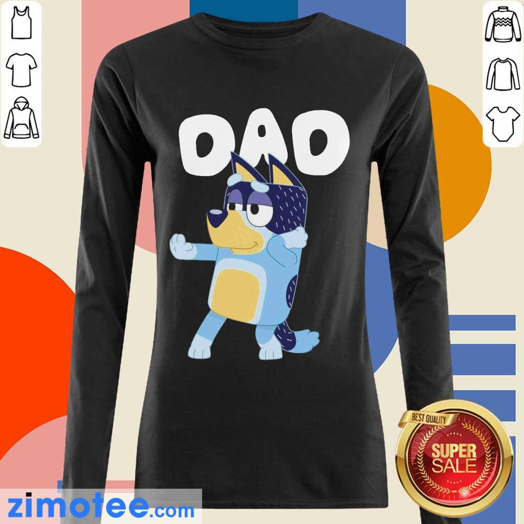 8 Absolutely Bluey Dad Long-Sleeved