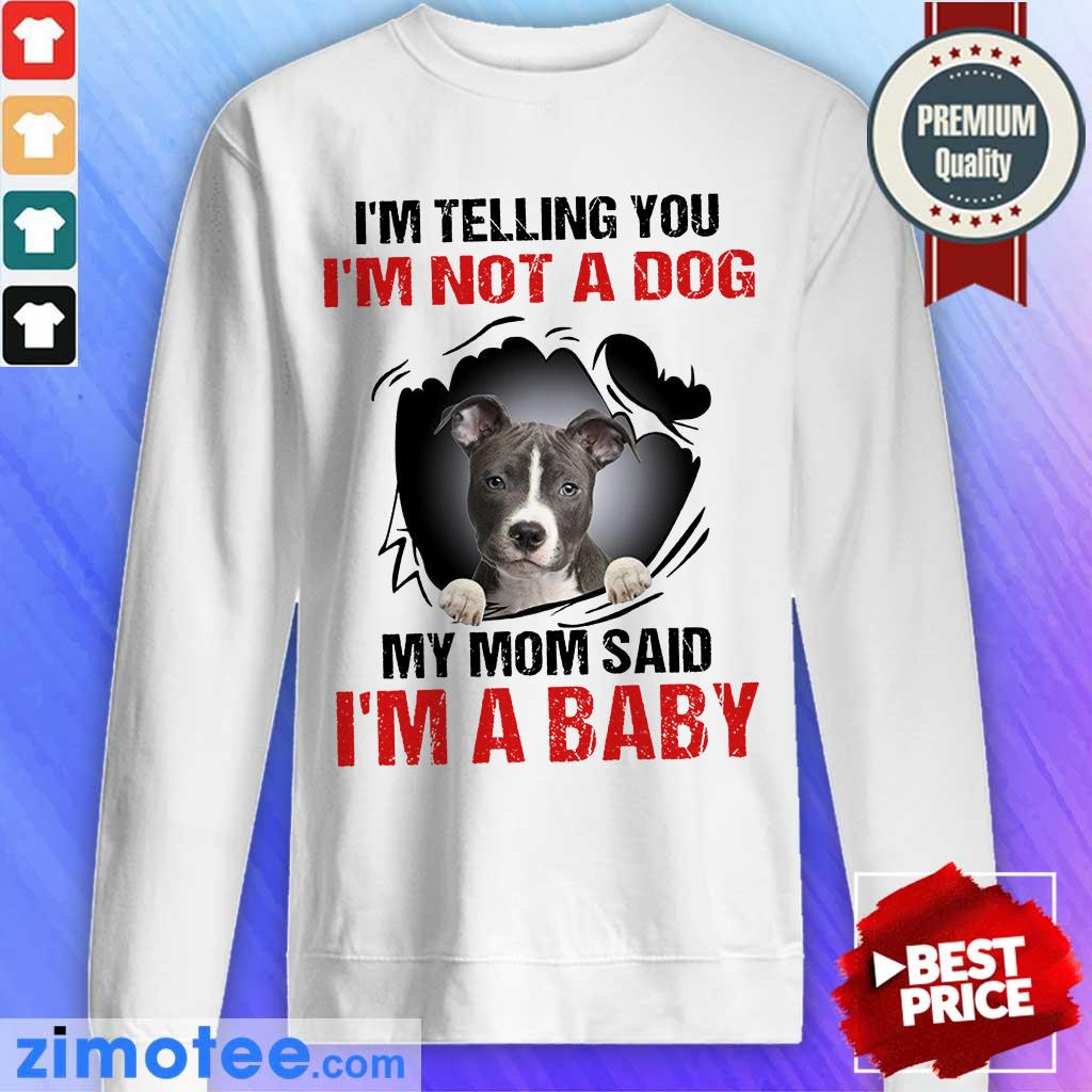Absolutely I Am 1 Baby Sweater