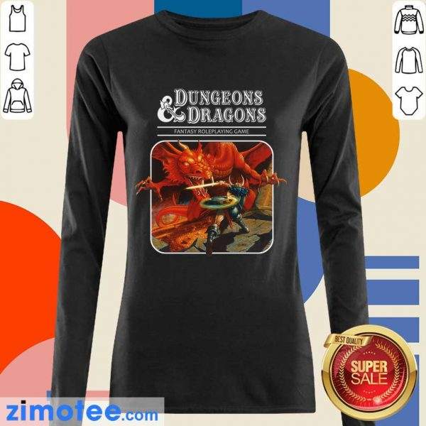Confident Roleplay 1 Game Dungeons And Dragons Long-Sleeved