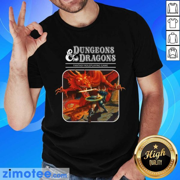 Confident Roleplay 1 Game Dungeons And Dragons Shirt