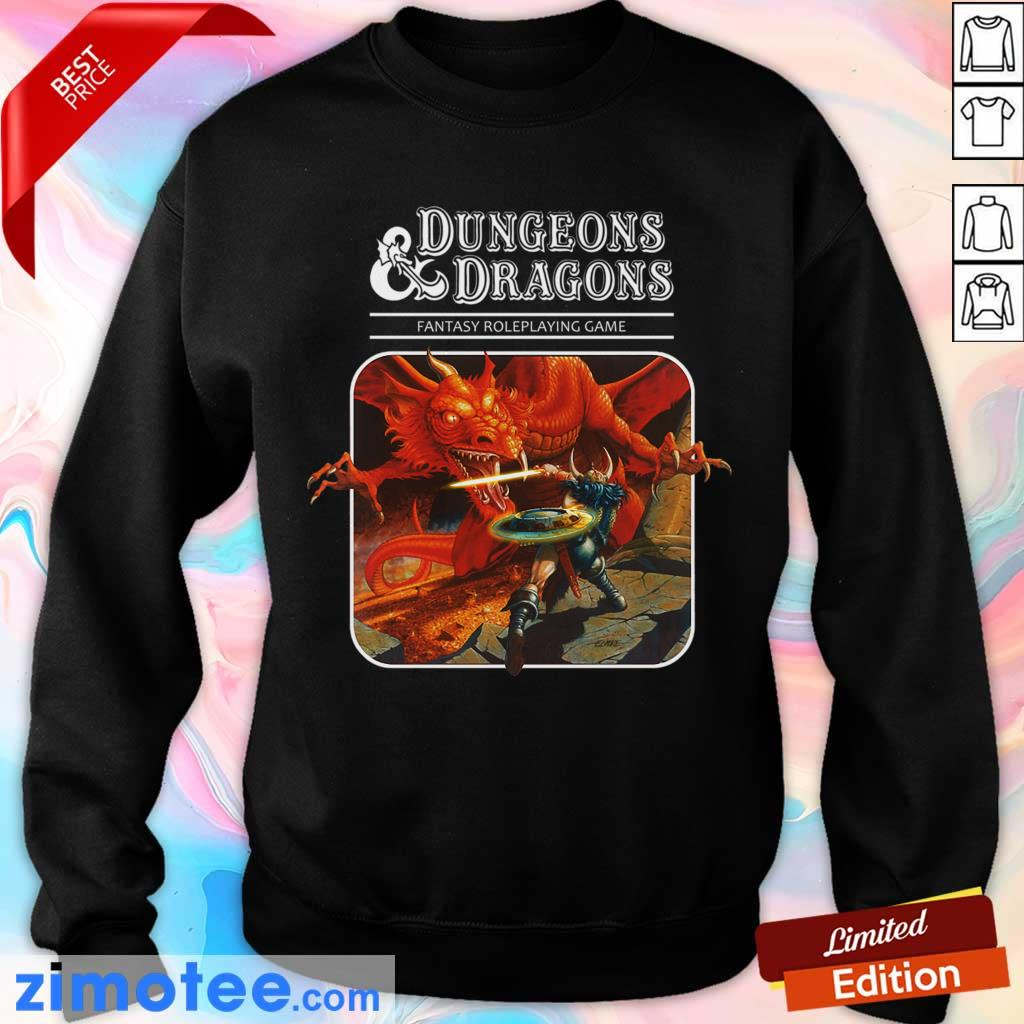 Confident Roleplay 1 Game Dungeons And Dragons Sweater