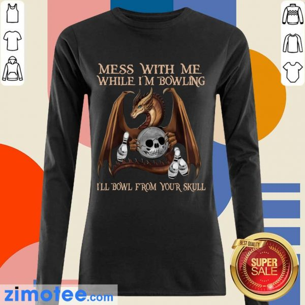 Delighted Dragon From 1 Your Skull Long-Sleeved