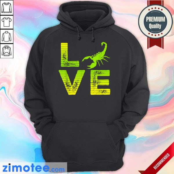 Extremely 4 Scorpions Loving Boys Girls Hoodie