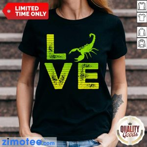 Extremely 4 Scorpions Loving Boys Girls Ladies Tee