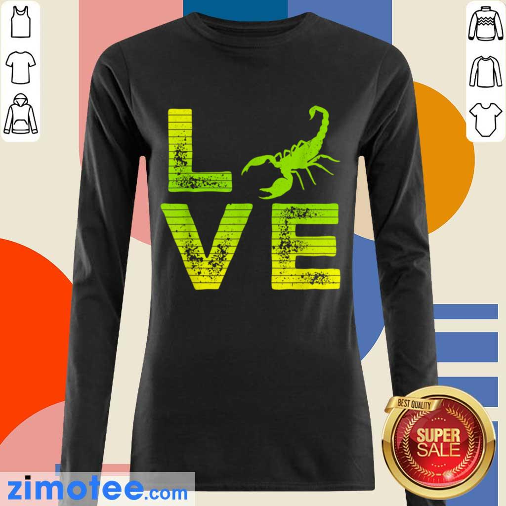Extremely 4 Scorpions Loving Boys Girls Long-Sleeved