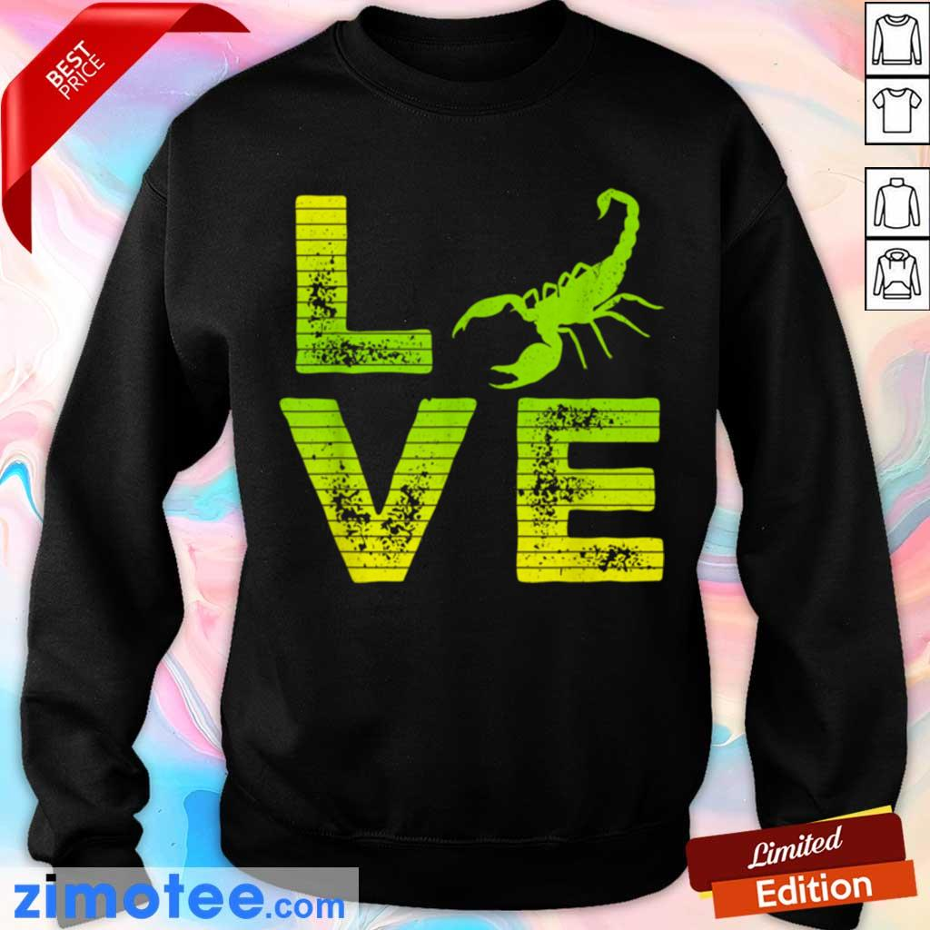 Extremely 4 Scorpions Loving Boys Girls Sweater