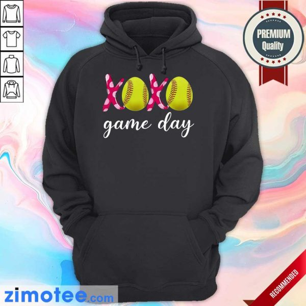 Official Baseball 14 XoXo Game Day Hoodie