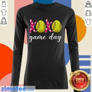 Official Baseball 14 XoXo Game Day Long-Sleeved