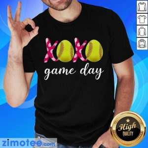 Official Baseball 14 XoXo Game Day Shirt