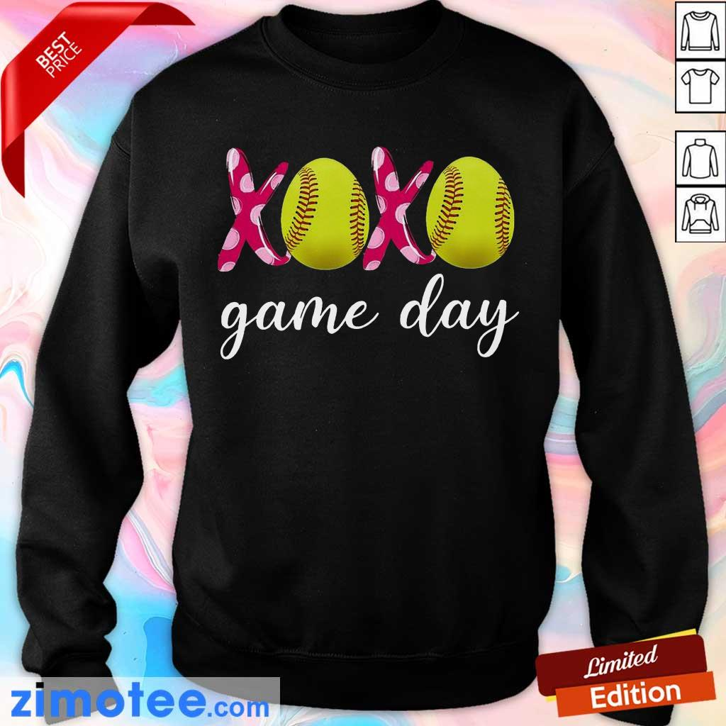 Official Baseball 14 XoXo Game Day Sweater