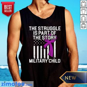 Official Military Child Month Purple Up Story Tank Top