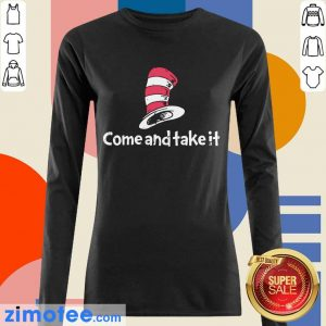 Official Seuss Come And Take It Long-Sleeved