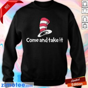 Official Seuss Come And Take It Sweater