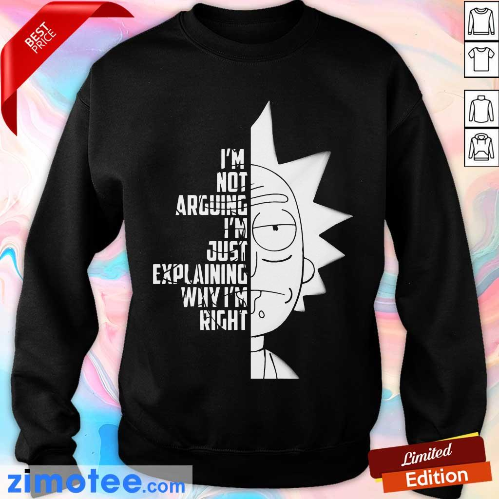 Rick And Morty Just Explaining 4 Sweater
