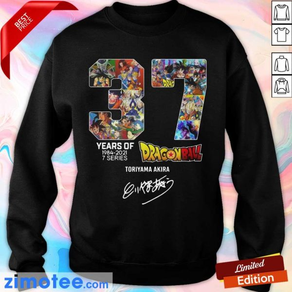 Series 7 Dragon Ball Fully Signature Sweater