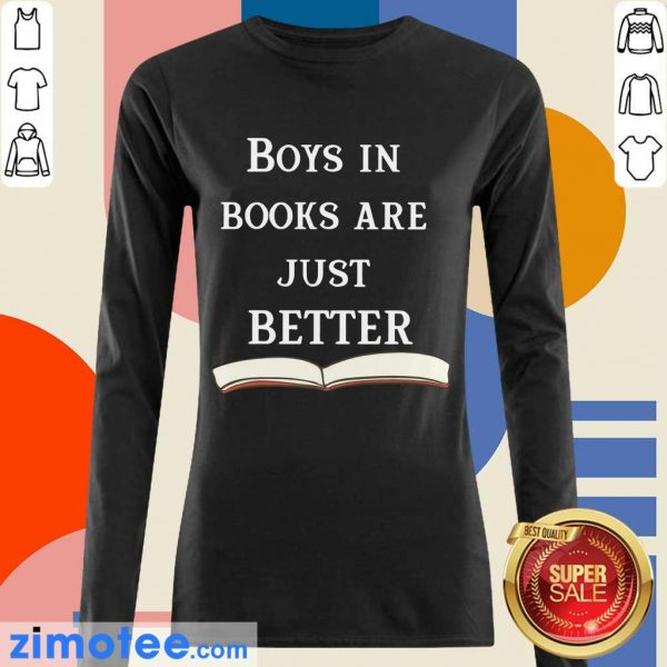 So 47 Boys In Books Are Just Better Long-Sleeved