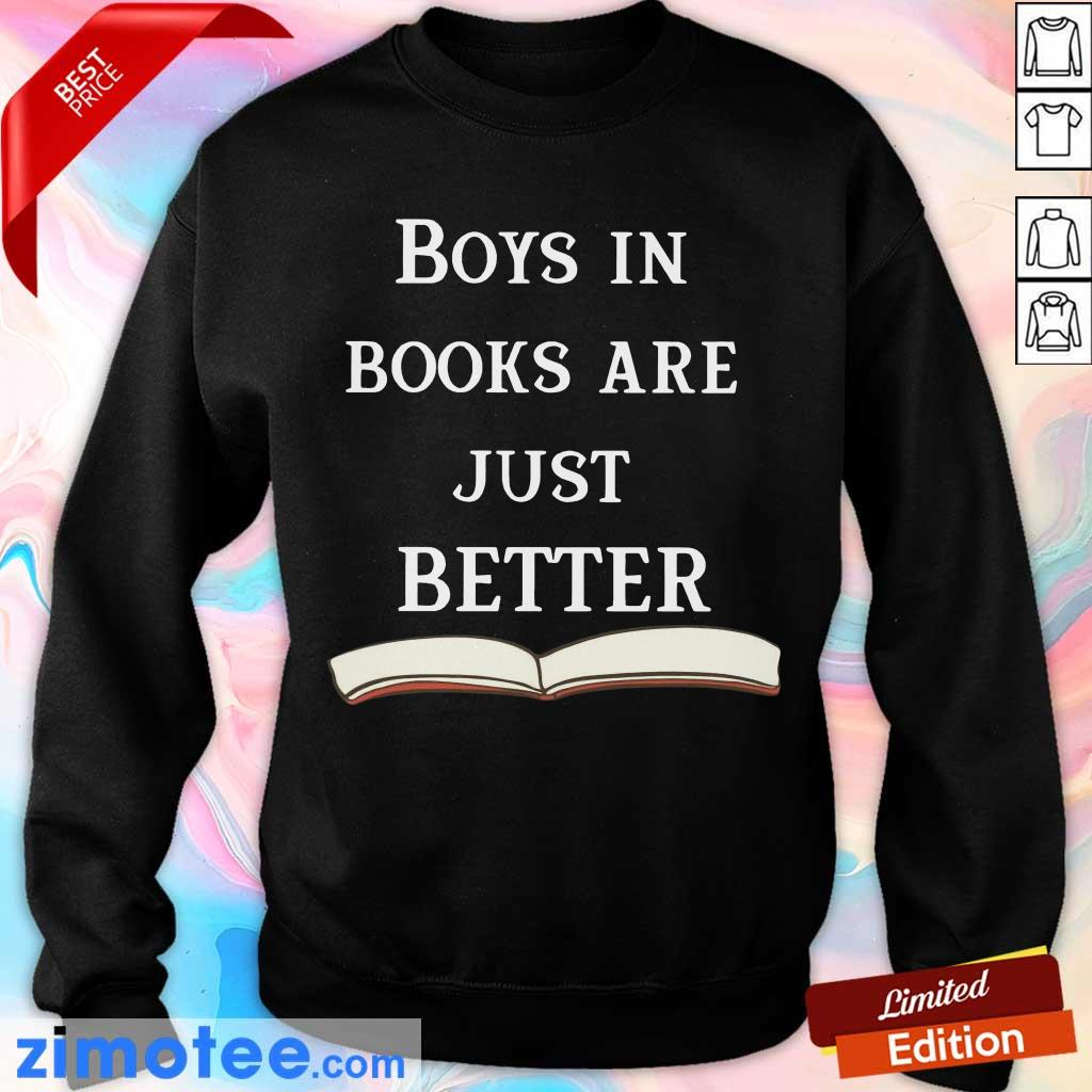 So 47 Boys In Books Are Just Better Sweater