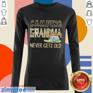 So Camping Grandma Never 2 Gets Old Long-Sleeved
