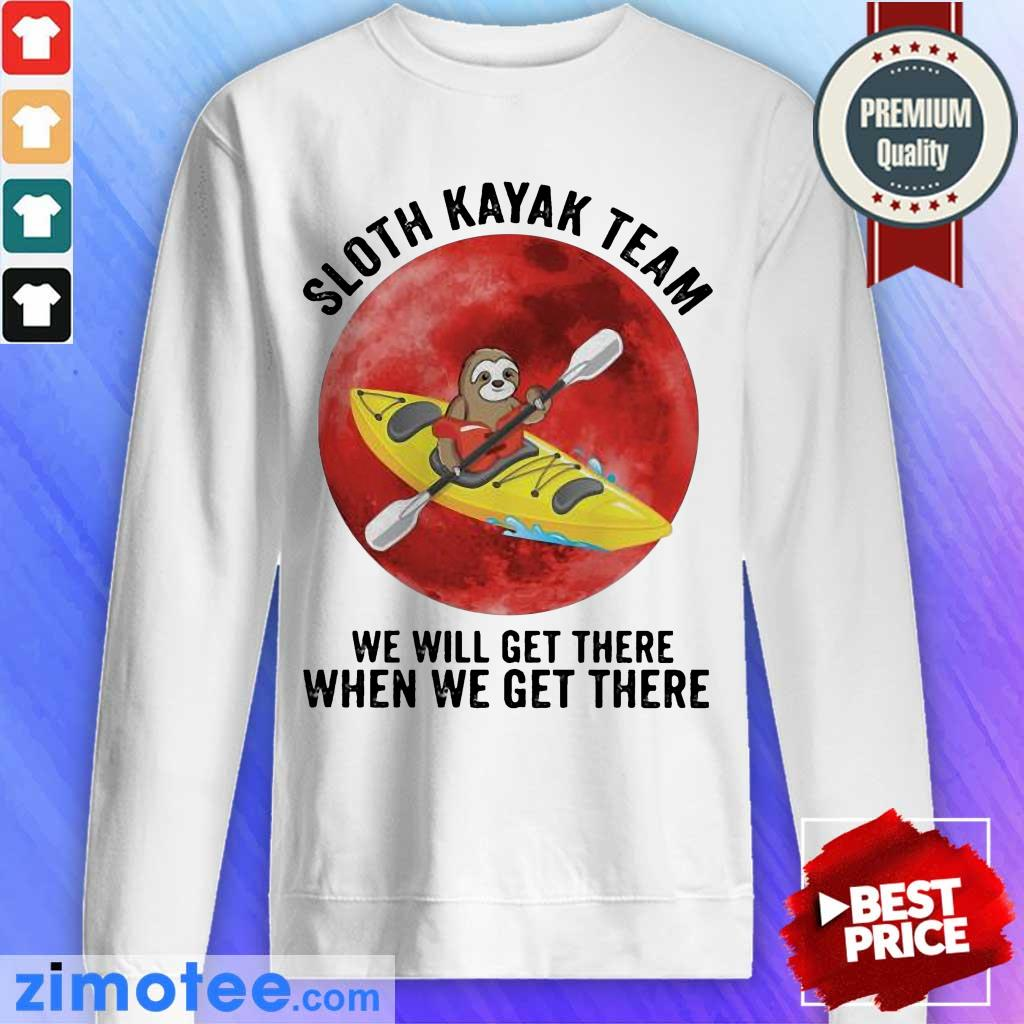 So Funny 2 Team We Get There Moon Blood Sweater