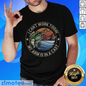 So I Can Not Work 1 Cast Fishing Shirt