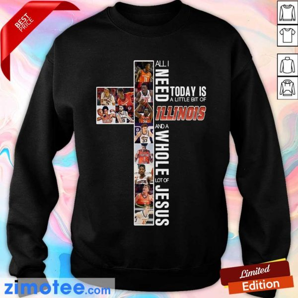 Top 2021 Today Is An Of Illinois Jesus Sweater