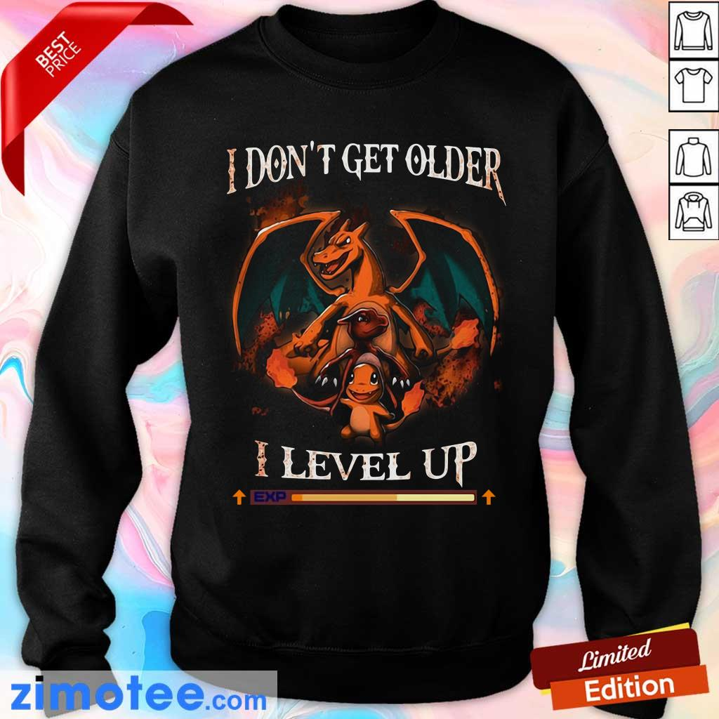 Awesome Dragon I Don't Get Older I Level Up Sweater