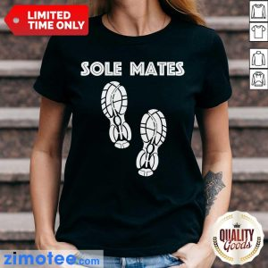 Awesome Sole Mates Sneaker Running Ladies Tee