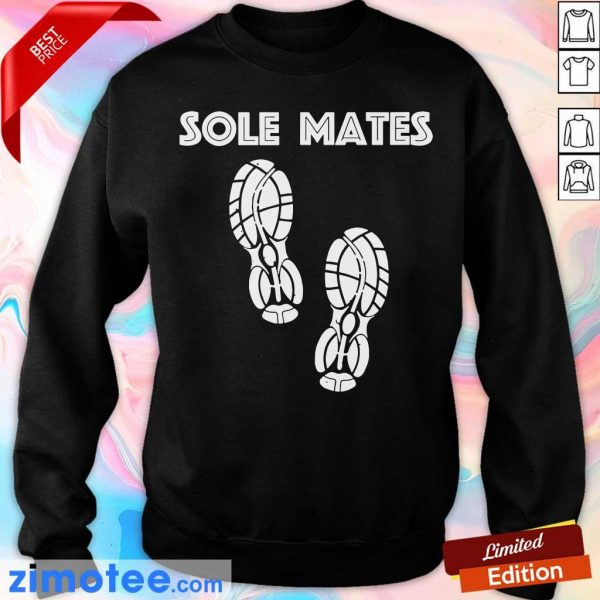 Awesome Sole Mates Sneaker Running Sweater