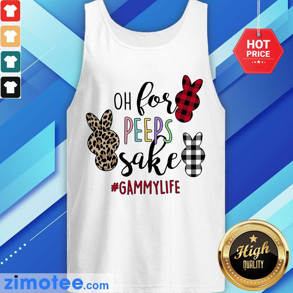 Official Oh For Peeps Sake Gammylife Tank Top