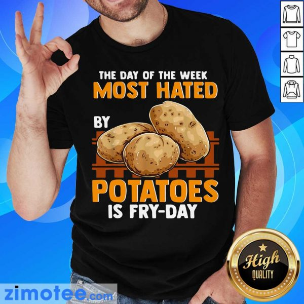 The Day Of Week Most Hated By Potatoes Is Fry Day Shirt