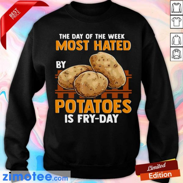 The Day Of Week Most Hated By Potatoes Is Fry Day Sweater