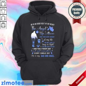 He Is In Every Beat Of My Heart Hoodie