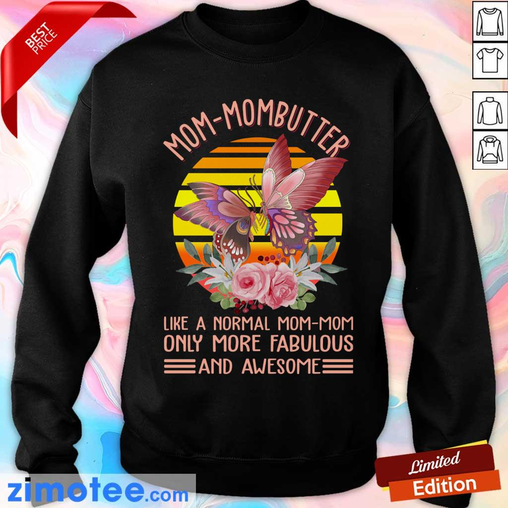 Mom Mombutter Vintage Only More Fabulous Sweater